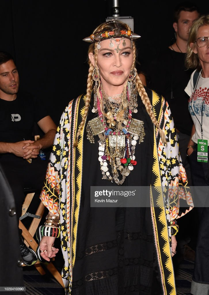 2018 MTV Video Music Awards - Backstage : News Photo
