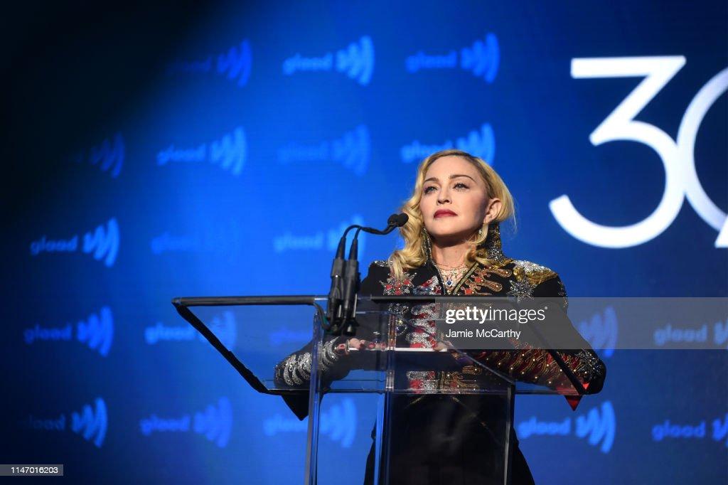 30th Annual GLAAD Media Awards New York – Inside : News Photo