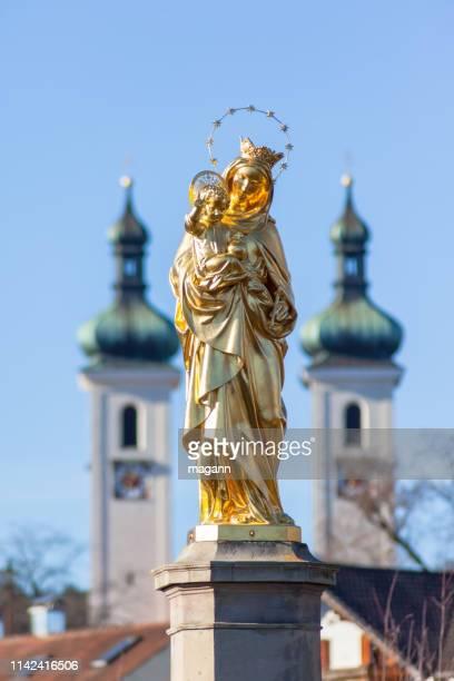 an image madonna statue tutzing bavaria
