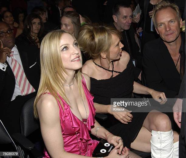 Madonna Trudie Styler and Sting