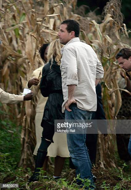 Madonna visits the village of Mugulula on April 3 2009 on the outskirts of Lilongwe Malawi Her visit was a gesture of her continued commitment to the...