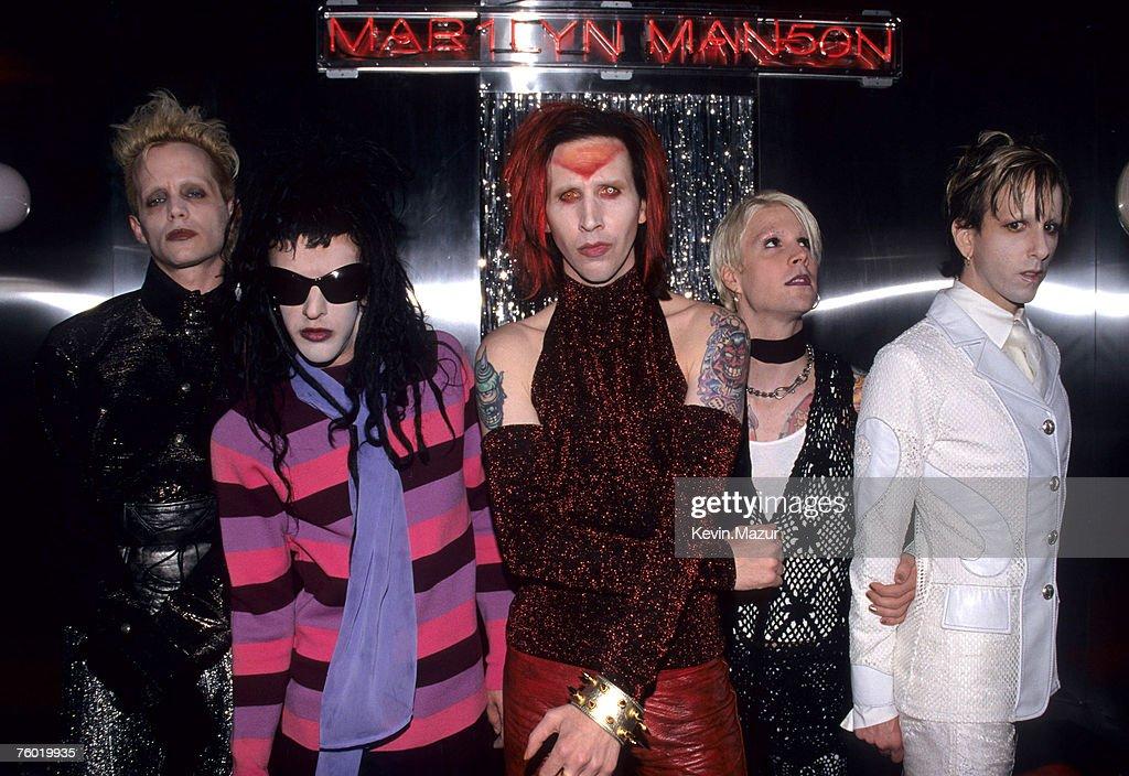 Marilyn Manson at the Virgin Megastore - September 15, 1998 : News Photo