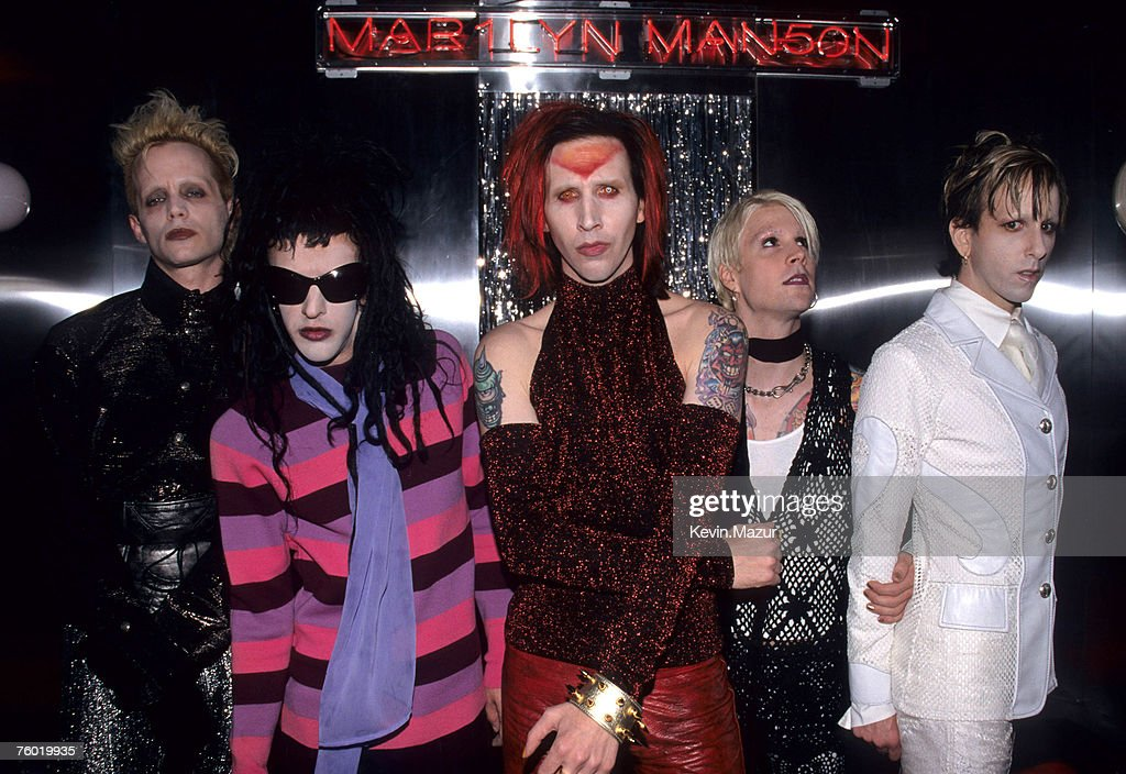 Marilyn Manson at the Virgin Megastore - September 15, 1998
