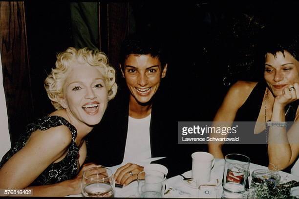 Madonna with her girlfriend Ingrid Casares