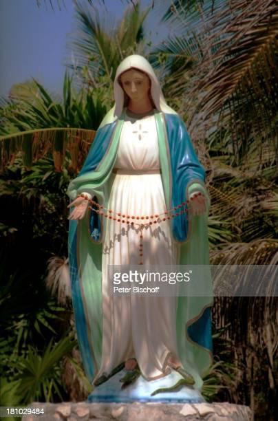 Madonnen-Statue, Reise, , Tulum/Mexico/Mittelamerika, Madonna, reisen, Kirche, Christlich, Gebetskette, Rosenkranz,