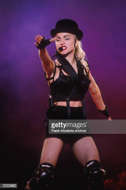 Madonnna performing on the Blond Ambition Tour in Tokyo, Japan, 4/4/90. Photo by Frank Micelotta/Getty Images.