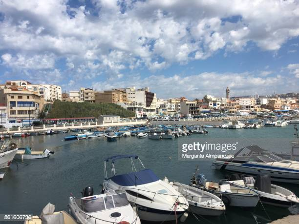 madrague port in algiers - algeria stock pictures, royalty-free photos & images