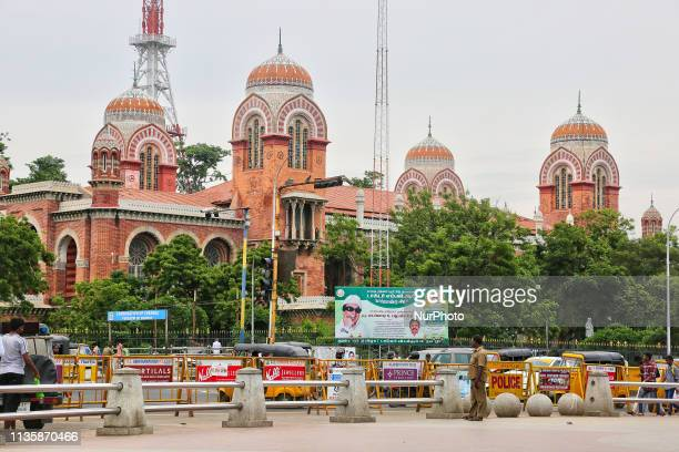 Madras High Court in the city of Chennai in Tamil Nadu, India. He Madras High Court is the high court of the Indian state of Tamil Nadu and was...