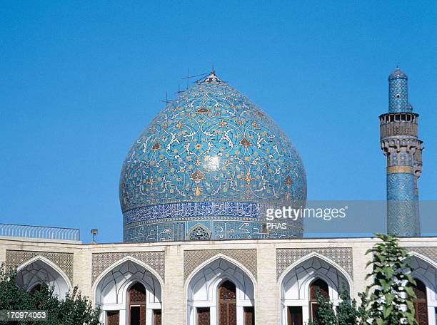 Madrasahi Madari Shahh also known as Chahar Bagh school It was built under the patronage of Shah Husain I a Safavid king 18th century Dome and...
