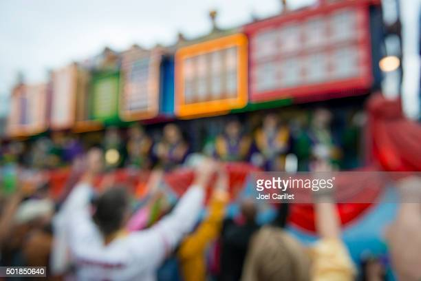 madri gras parade - new orleans - mardi gras float stock pictures, royalty-free photos & images