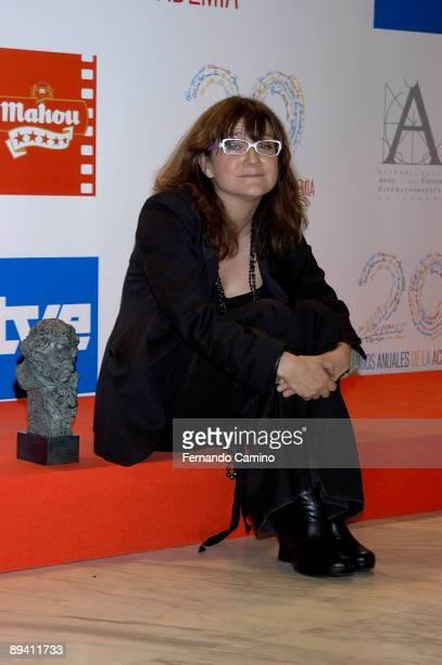 Madrid 20th Spanish Film Award Ceremony Portrait of Isabel Coixet 'Best director' by her film 'La vida secreta de las palabras'