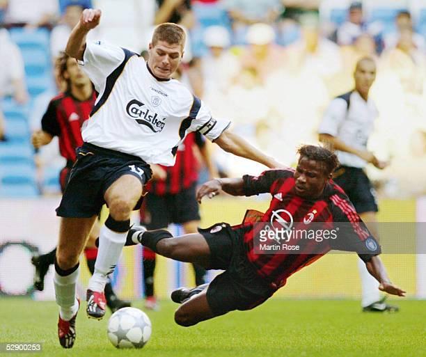 MADRID Madrid AC MAILAND FC LIVERPOOL 02 Steven GERRARD/LIVERPOOL Catilina AUBAMEYANG/MAILAND