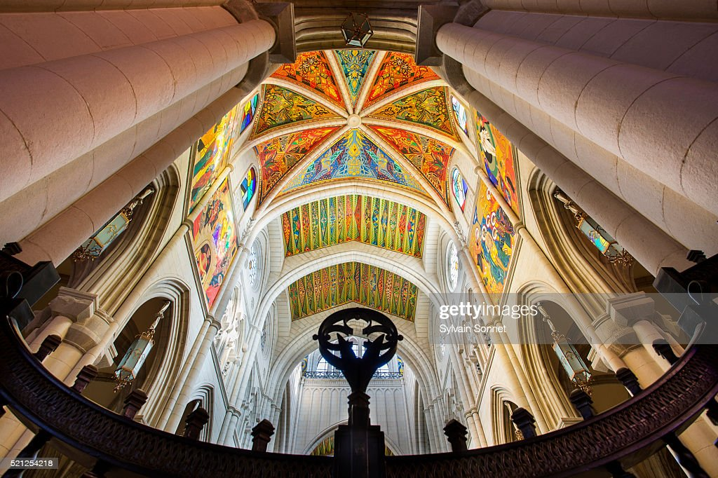Madrid, Almudena Cathedral : Stock Photo