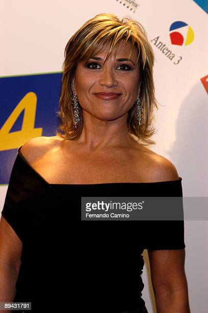 Madrid ATV television awards Julia Otero journalist and TV presenter