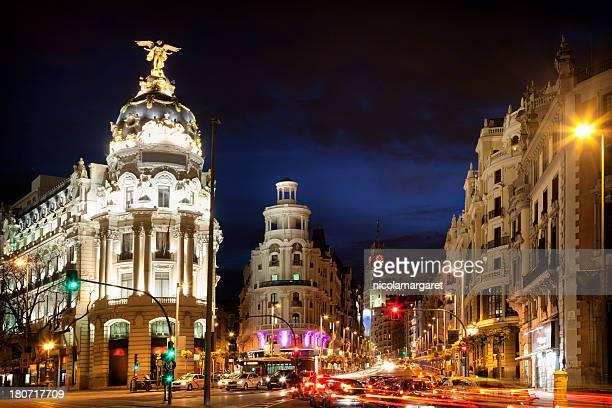 Por la noche, Madrid