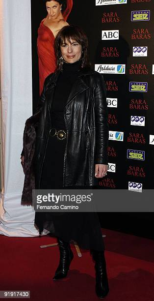140203 Madrid Calderón theater Preestreno in the Calderón Theater of Madrid of the new Flamenco spectacle of of the dancer Sara Twigs The actress...