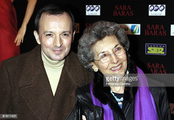 140203 Madrid Calderón theater Preestreno in the Calderón Theater of Madrid of the new Flamenco spectacle of of the dancer Sara Twigs The vidente...