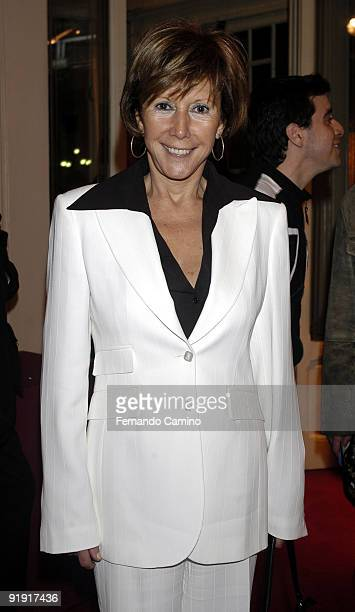 140203 Madrid Calderón theater Preestreno in the Calderón Theater of Madrid of the new Flamenco spectacle of of the dancer Sara Twigs Shell attends...