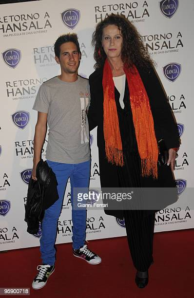 Madrid Capitol Theater Spain Premiere of Return to Hansala Laura Antonelli