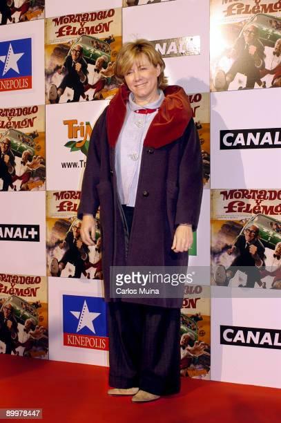 060203 Madrid Cines Kinepolis Preestreno de la pelicula Mortadelo y Filemon basada en los personajes del dibujante Francisco Ibanez Pilar del...