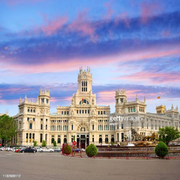 madrid city hall, spain - madrid stock pictures, royalty-free photos & images