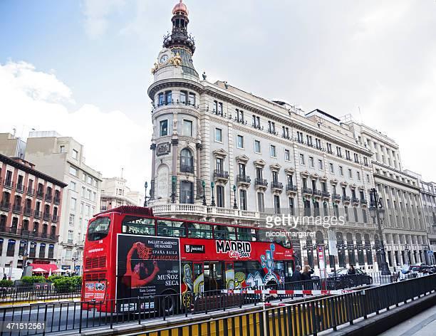 Madrid city scene