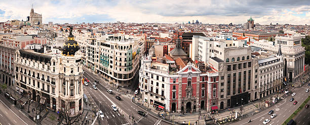 Madrid Classic Cityscape Wall Art