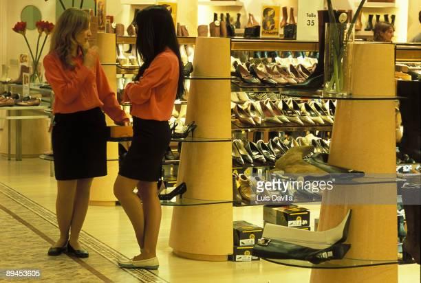 Madrid Comunidad Automoma de Madrid Shop assistants of Shop Centre
