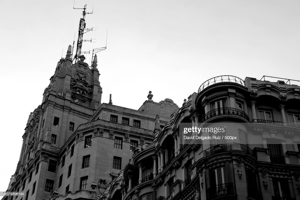 Madrid, ephemeral remember streetphotography : Foto de stock