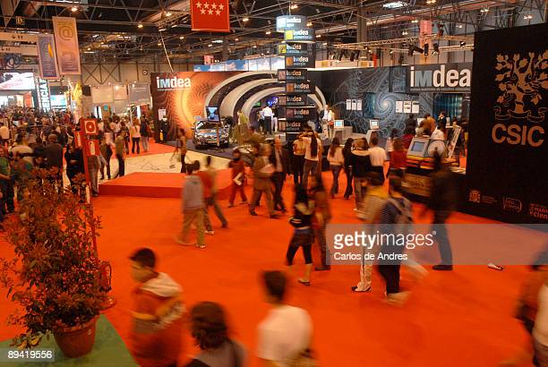 Madrid es Ciencia Ifema Feria de Madrid Madrid Science Fair is one of the main projects in Spain to increase the public awareness of science Madrid...