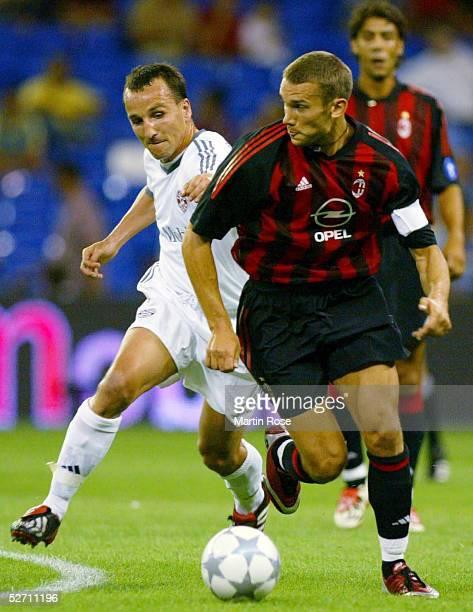 MADRID Madrid FC BAYERN MUENCHEN AC MAILAND 21 Jens JEREMIES/BAYERN Andrei SHEVTCHENKO/MAILAND