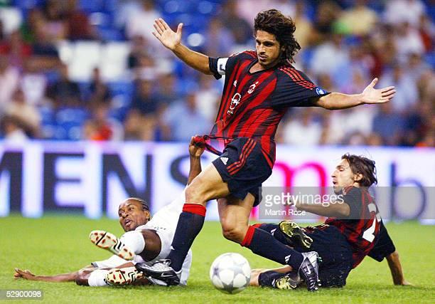 MADRID Madrid FC BAYERN MUENCHEN AC MAILAND 21 ZE ROBERTO/BAYERN Gennaro GATTUSO Andrea PIRLO/MAILAND