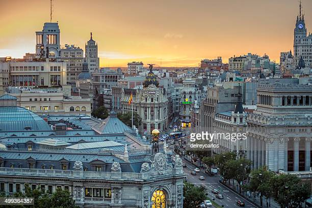 Madrid from the air