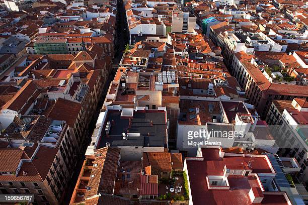 Madrid from the sky