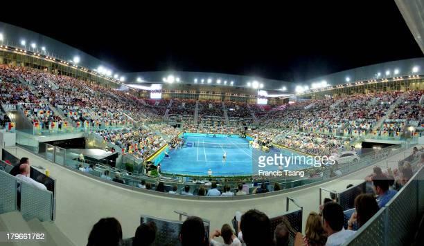 Madrid La Caja Magica tennis arena June 6 2013