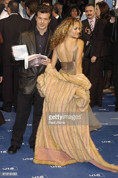 010203 Madrid Palace of Exhibitions and Congresses of the City council of Madrid IFEMA XVII Edition of the Goya Prizes of the Cinema Paulina Rubio...