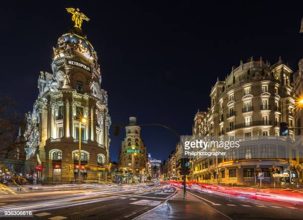madrid - urban sprawl stock pictures, royalty-free photos & images