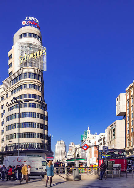 Madrid, Plaza de Callao square
