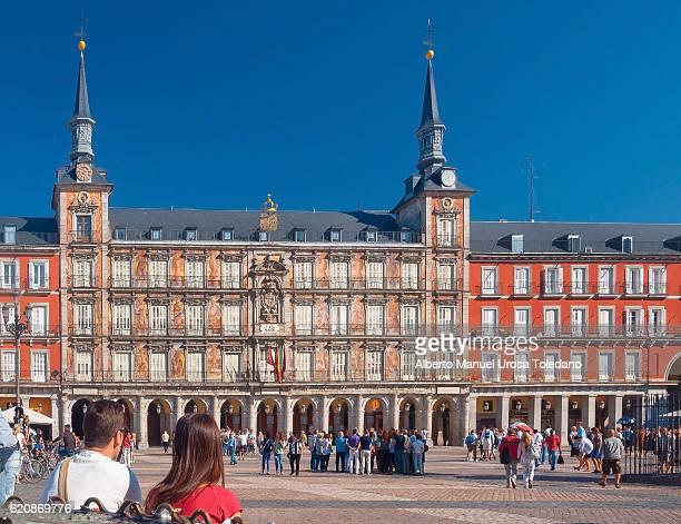 Madrid, Plaza Mayor square - Panaderia House