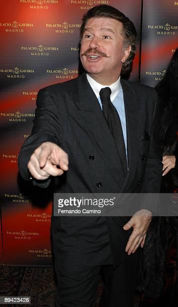 Madrid Portrait of 'Bigote Arrocet' comedian