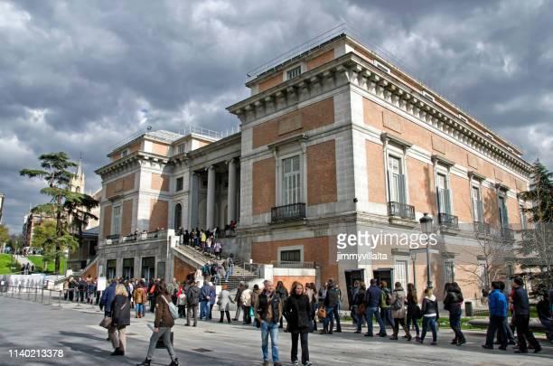 madrid, prado museum - el prado museum stock pictures, royalty-free photos & images