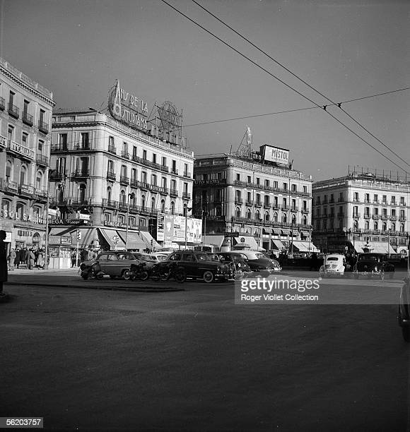 Madrid Puerta del Sol January 1957