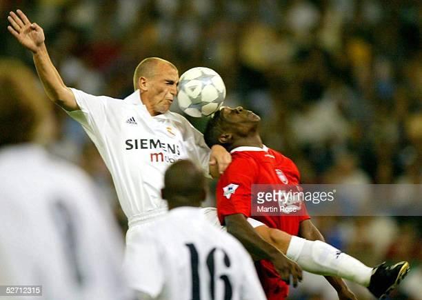 MADRID Madrid REAL MADRID FC LIVERPOOL 20 Emile HESKEY/LIVERPOOL