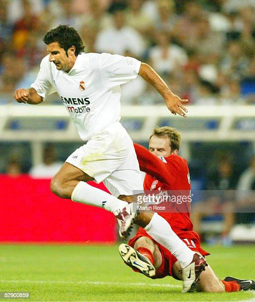MADRID Madrid REAL MADRID FC LIVERPOOL 20 Luis FIGO/REAL Dietmar HAMANN/LIVERPOOL