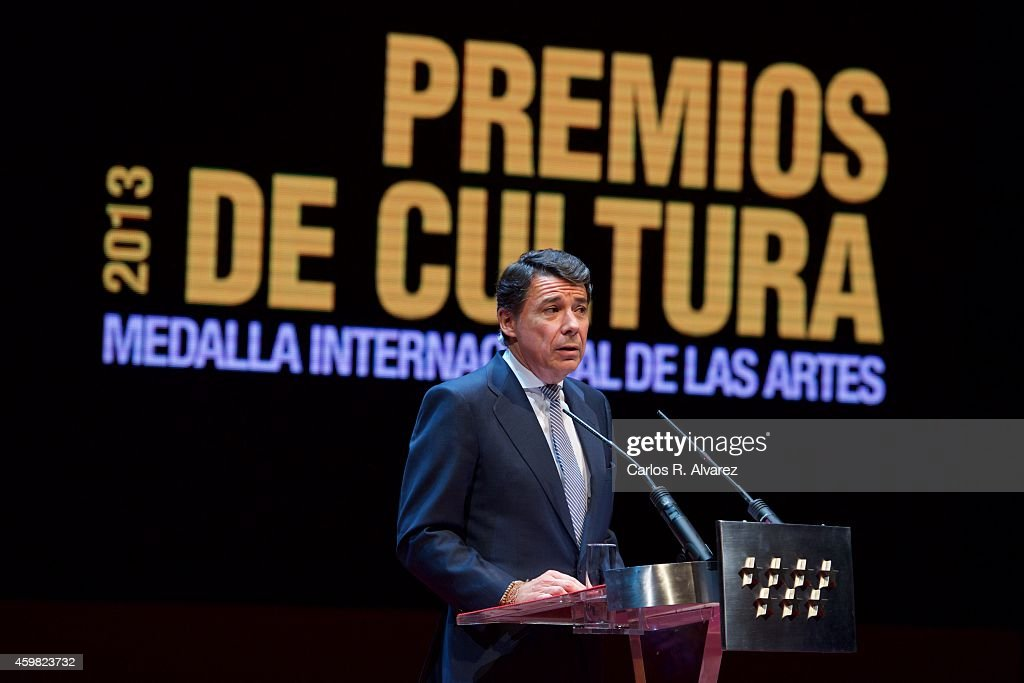 Culture Awards and International Arts Medal Ceremony in Madrid