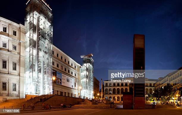 Madrid, Reina Sofia Museum, June 6, 2013.
