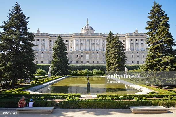 Madrid Royal Palace Exterior