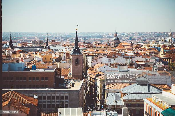 Madrid seen from above.