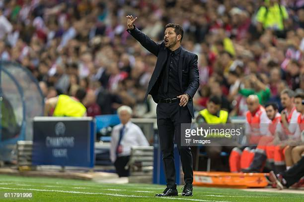 Madrid Spain UEFA Champions League 2016/17 Season Group D Matchday 2 Atletico Madrid FC Bayern Muenchen Trainer Diego Simeone