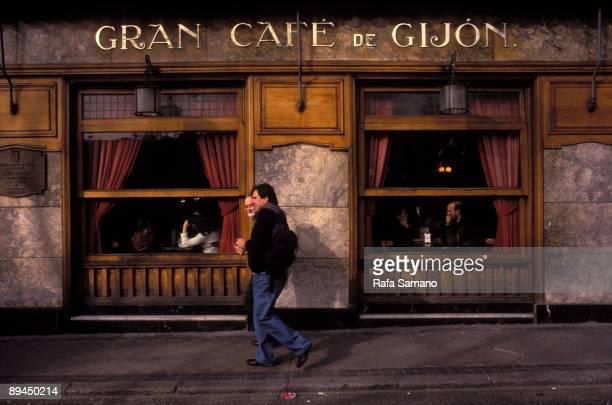 Madrid Spain Cafe Gijon